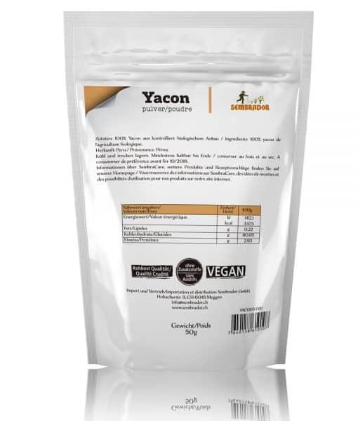 Getrockneter Yacon