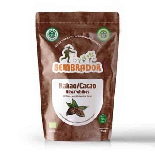 Kakao Nibs mit Yacon gesüsst